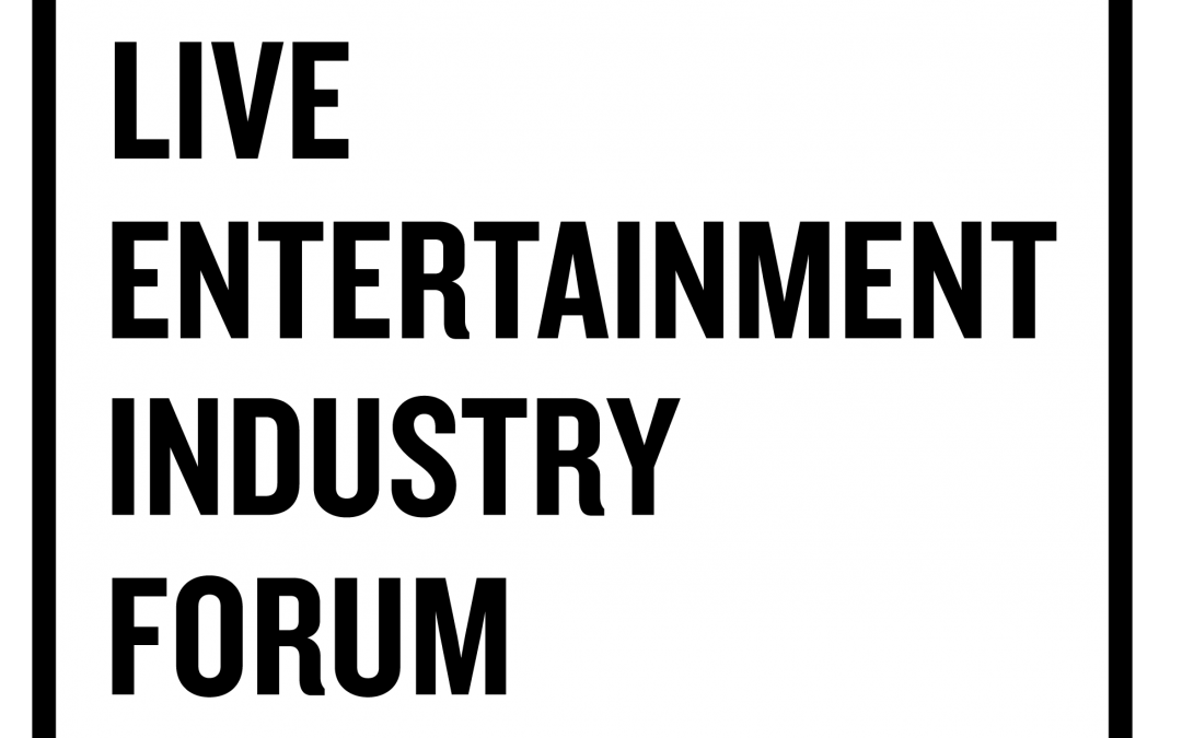 Live Entertainment Industry Forum Launched