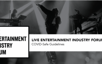 Live Entertainment Industry Forum (LEIF) is delighted to share its draft COVID-Safe Guidelines