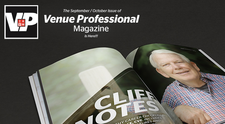 The Latest Issue of Venue Professional Magazine is Here!