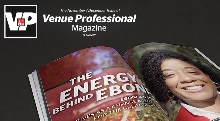 The November/December Issue of Venue Professional Magazine Is Here!