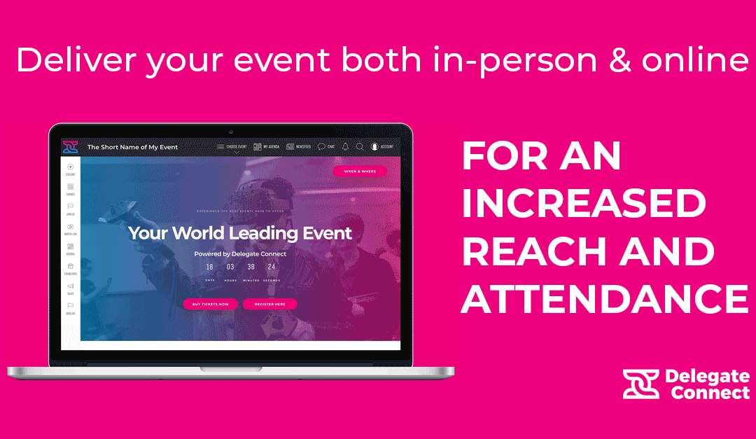 Why venues should opt for delivering their events in a hybrid format