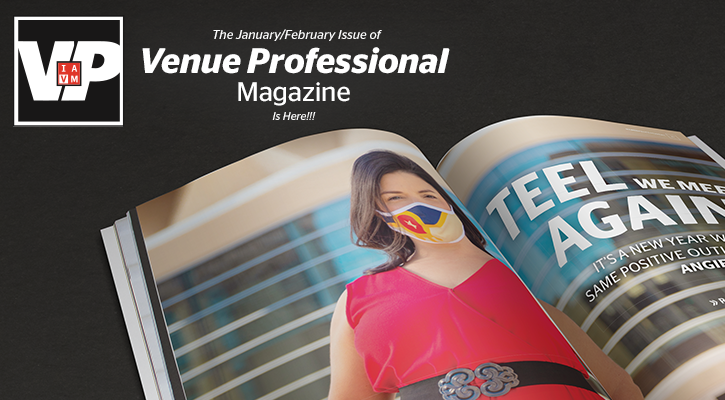 Latest issue of Venue Professional Magazine is now available